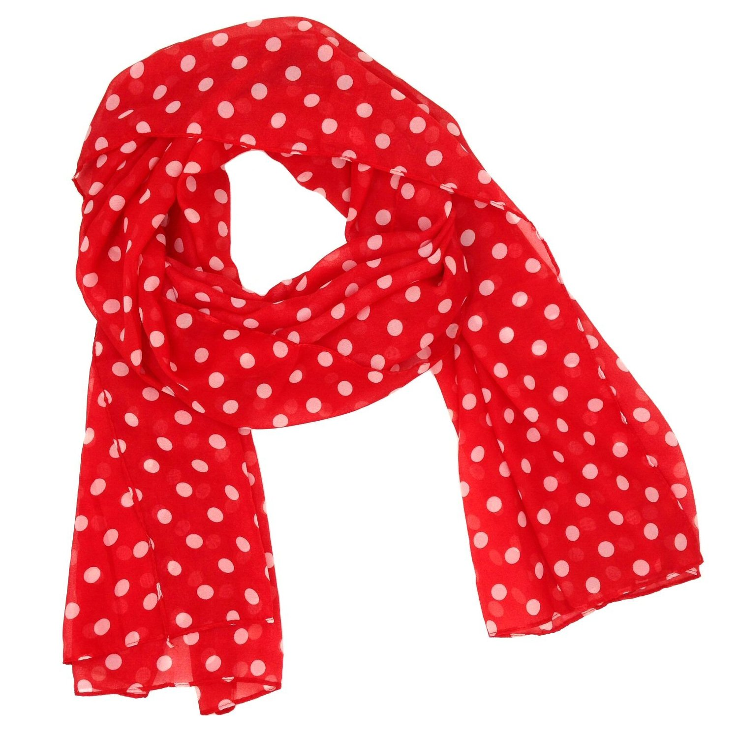 Polka Dot Scarf Designs And Patterns World Scarf