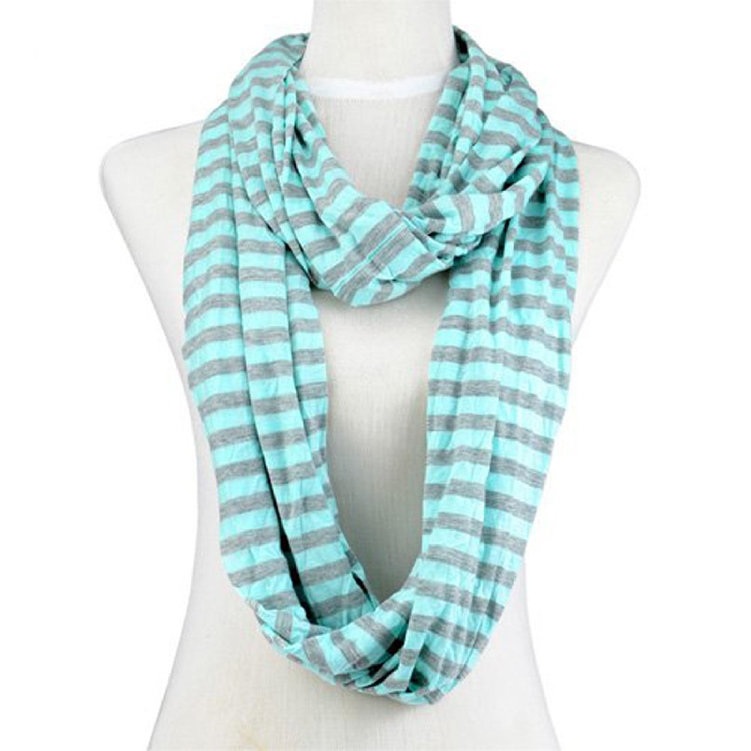 Product Description classic and chic pure cotton striped scarf is a great addition to your.