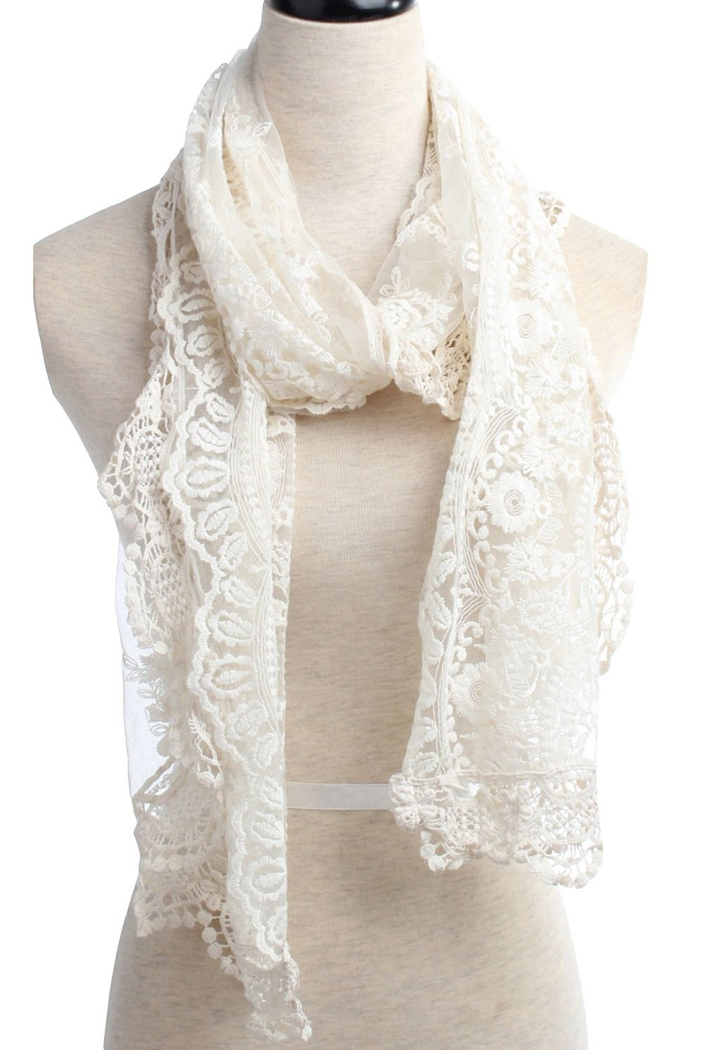 Lace Scarf Designs And Patterns Worldscarf Com
