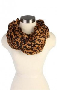 Cheetah Scarf Outfit