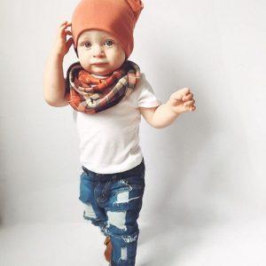 Baby Boy Scarf