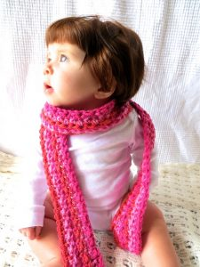 Baby Girl Scarf