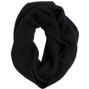 Black Cashmere Infinity Scarf