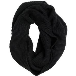 Black Cashmere Infinity Scarf