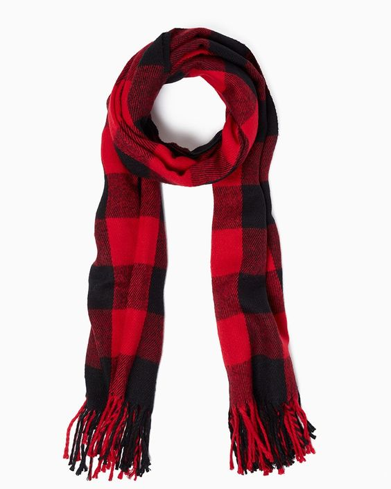 Buffalo Plaid Scarf Designs And Patterns World Scarf