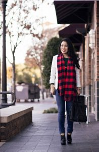 Buffalo Plaid Scarf Pictures