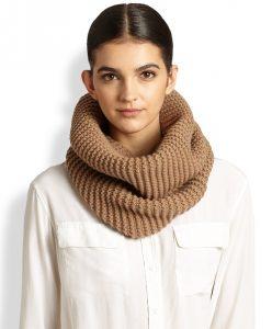 Circle Knit Scarf