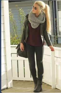 Circle Scarf Outfit