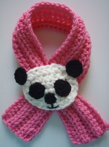 Crochet Baby Scarf