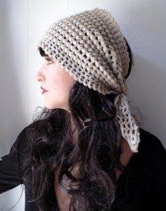 Crochet Head Scarf