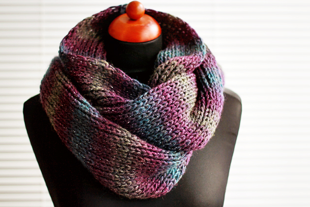 Knit Infinity Scarf Designs And Patterns World Scarf
