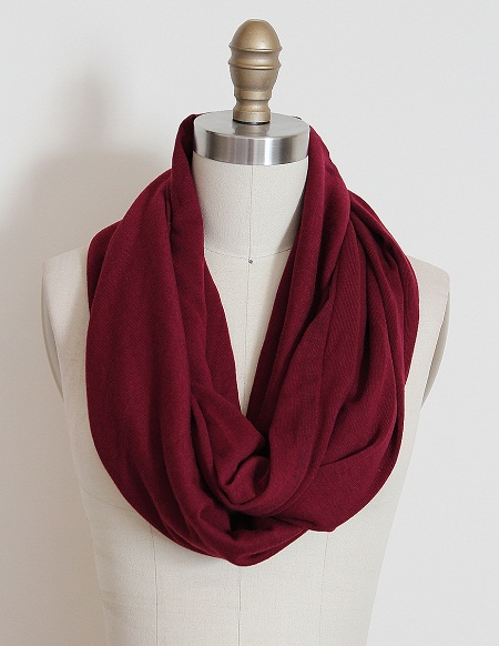 Red Infinity Scarf Designs And Patterns World Scarf