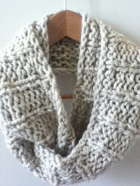 Capelet Knitting Pattern Free : Knit Infinity Scarf Designs and Patterns World Scarf