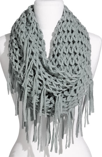 Fringe Infinity Scarf Designs And Patterns World Scarf