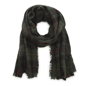 Green Plaid Scarf Images