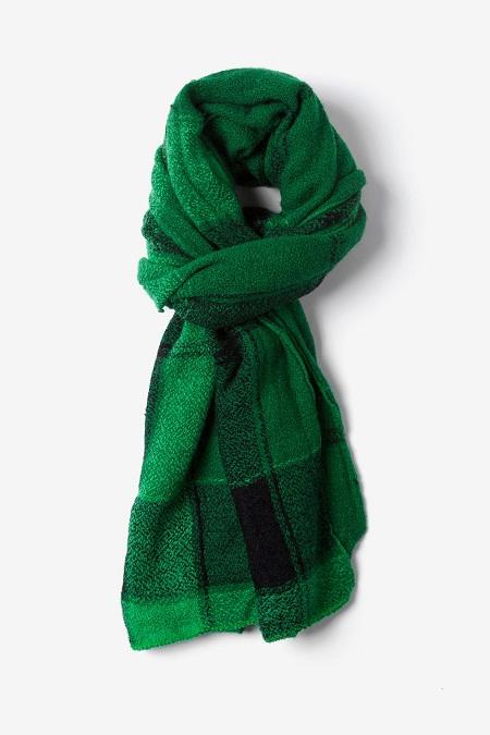 Green Plaid Scarf Designs And Patterns Worldscarf Com
