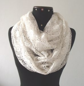 Images of White Infinity Scarf