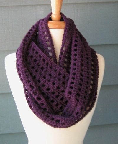 Crochet Infinity Scarf Designs and Patterns | World Scarf