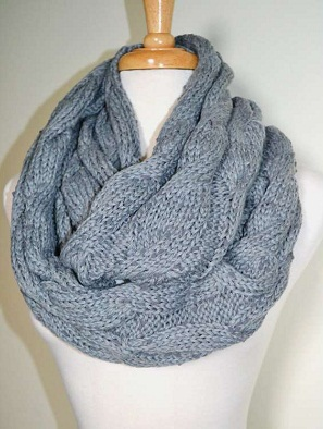 Knit Infinity Scarf Designs And Patterns Worldscarf Com