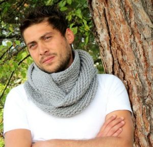 Infinity Scarf for Men