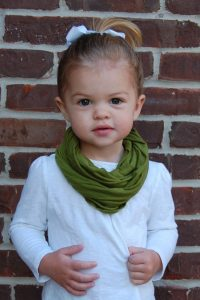 Infinity Scarf for Toddlers