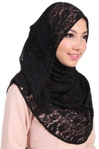 Lace Head Scarf