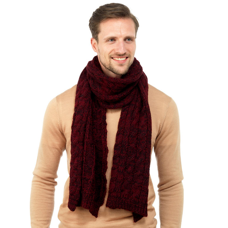 Burgundy Scarf Designs And Patterns Worldscarf Com