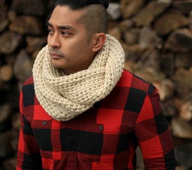 Mens Infinity Scarf Designs And Patterns Worldscarfcom