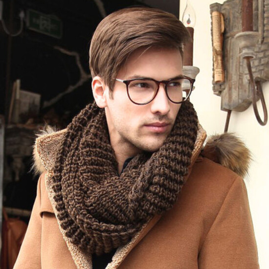 Men S Infinity Scarf Designs And Patterns Worldscarf Com