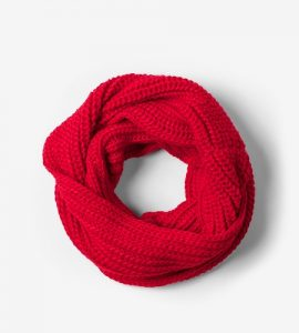 Pictures of Red Infinity Scarf