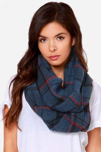 Plaid Infinity Scarf Photos