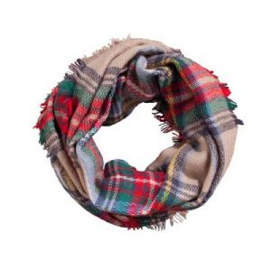 Plaid Infinity Scarf Pictures