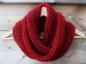 Red Infinity Scarf Images