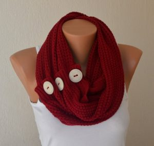 Red Infinity Scarf Photos