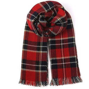Red Plaid Scarf Images