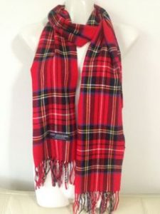 Red Plaid Scarf Pictures