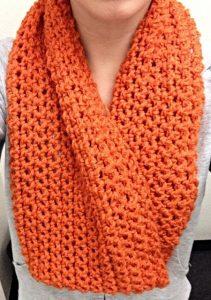 Single Crochet Infinity Scarf