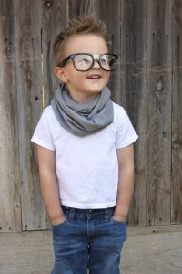 Toddler Boy Infinity Scarf