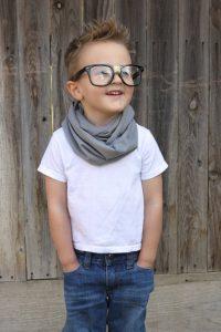 Toddler Boy Infinity Scarf