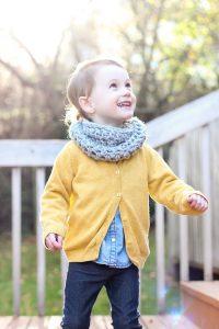 Toddler Infinity Scarf Crochet