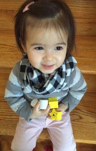 Toddler Infinity Scarf DIY