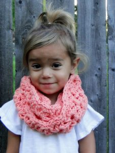 Toddler Infinity Scarf Pattern