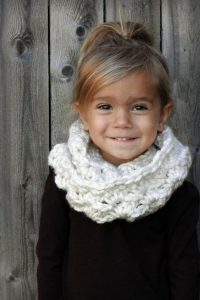 Toddler Infinity Scarf Pictures