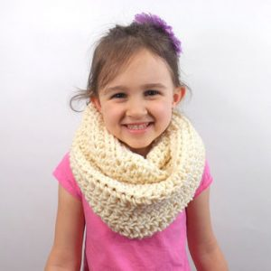 Toddler Knit Infinity Scarf