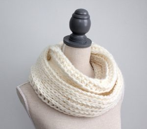 White Infinity Scarf Photos