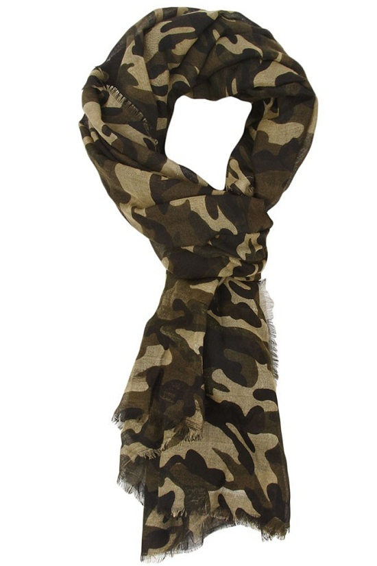Camo Scarf Designs And Patterns World Scarf