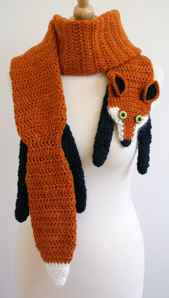 Fox Scarf Designs And Patterns World Scarf