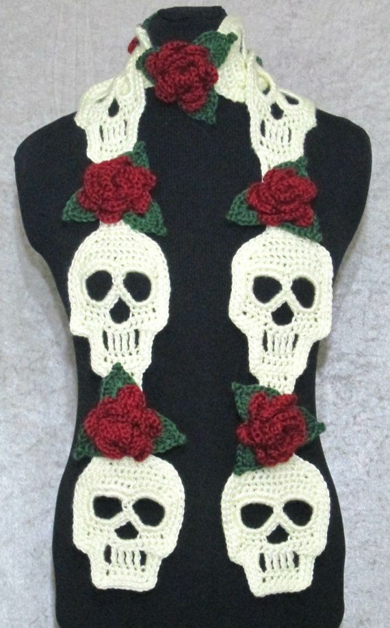 Skull Scarf Designs And Patterns World Scarf