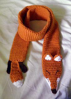 Fox Scarf Designs And Patterns Worldscarf Com