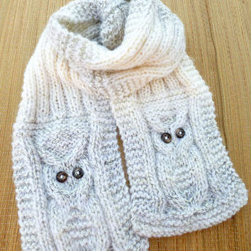 Owl Scarf Designs and Patterns World Scarf